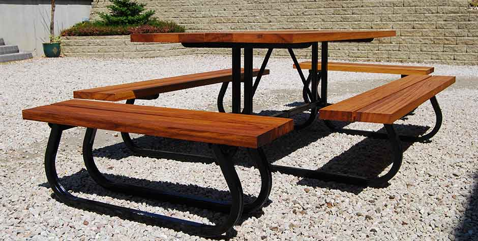 crana engineering product - picnic table