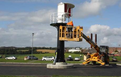 Buncrana Pier Lighthouse Restoration Project